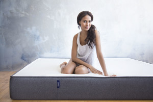 Casper Sleep foam mattress with model